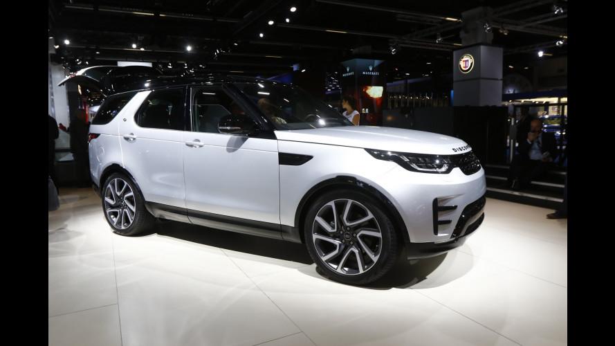 Land Rover al Salone di Francoforte 2017