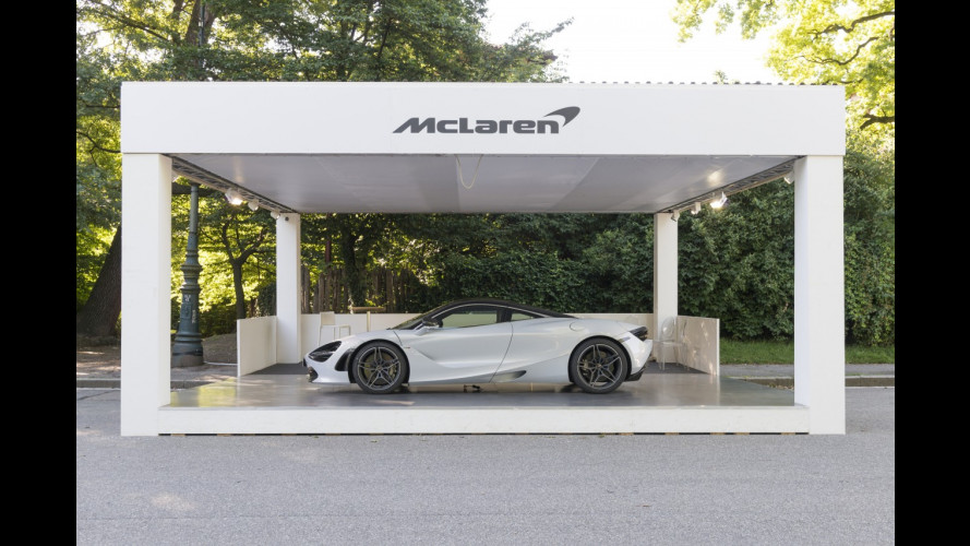 McLaren a Parco Valentino 2017
