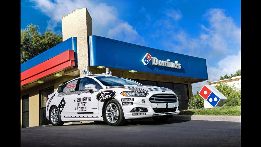 Ford e Domino's, pizza a domicilio con la guida autonoma
