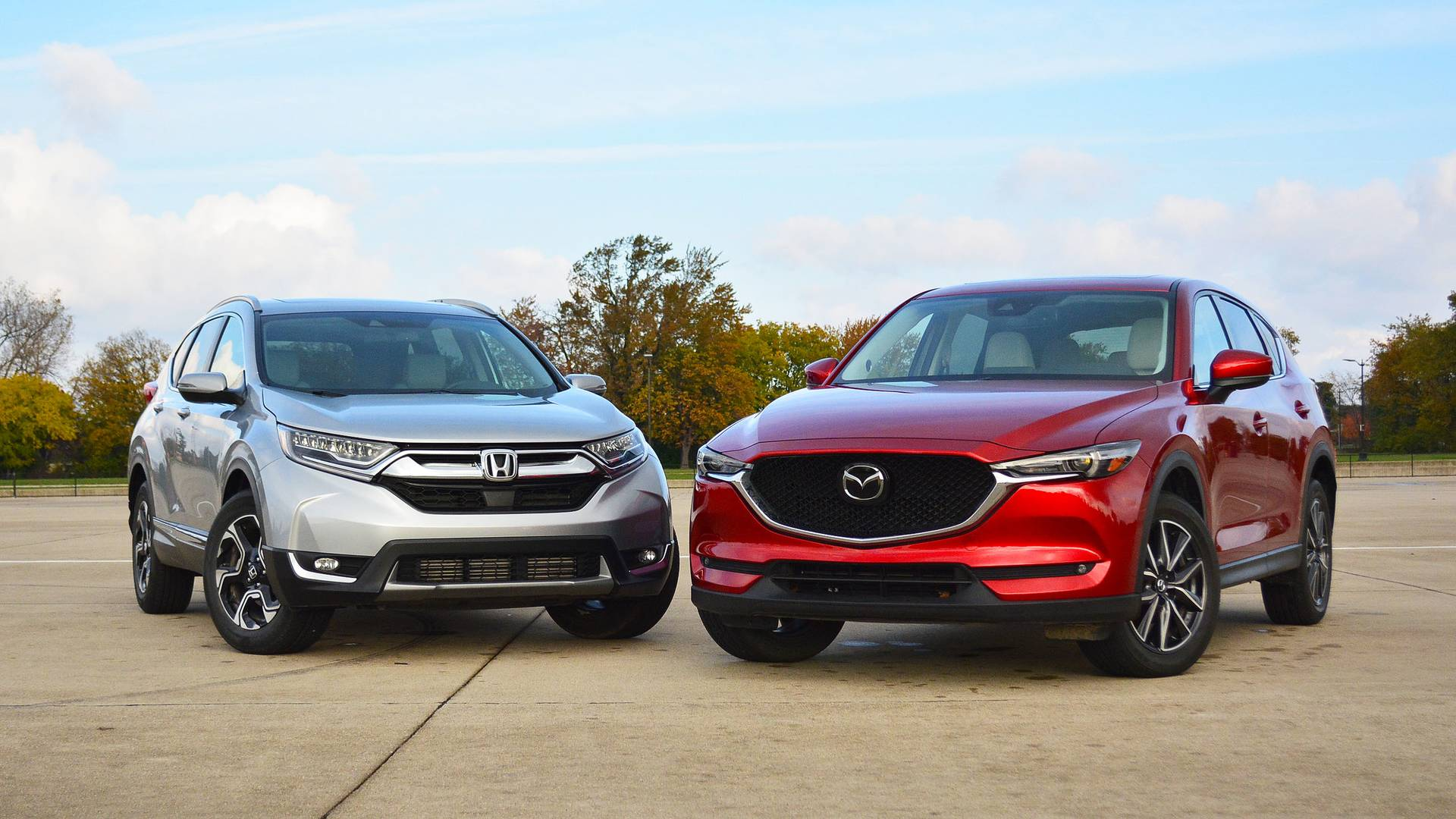 Honda CR-V vs  Mazda CX-5: The Head And The Heart Of SUVs