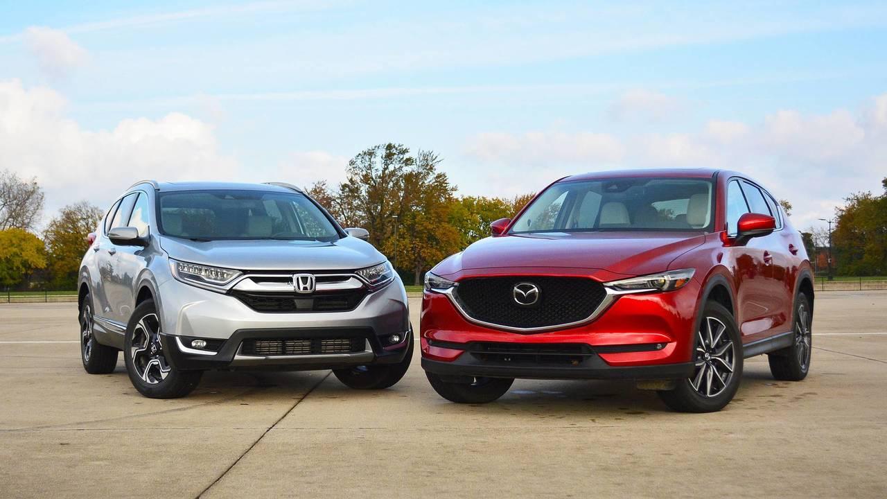 2017 Honda Cr V Vs Mazda Cx 5