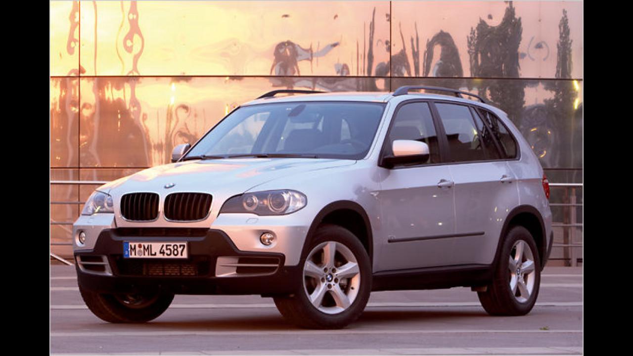 Platz 3 bei den Geländewagen: BMW X5 (20,2 Prozent)
