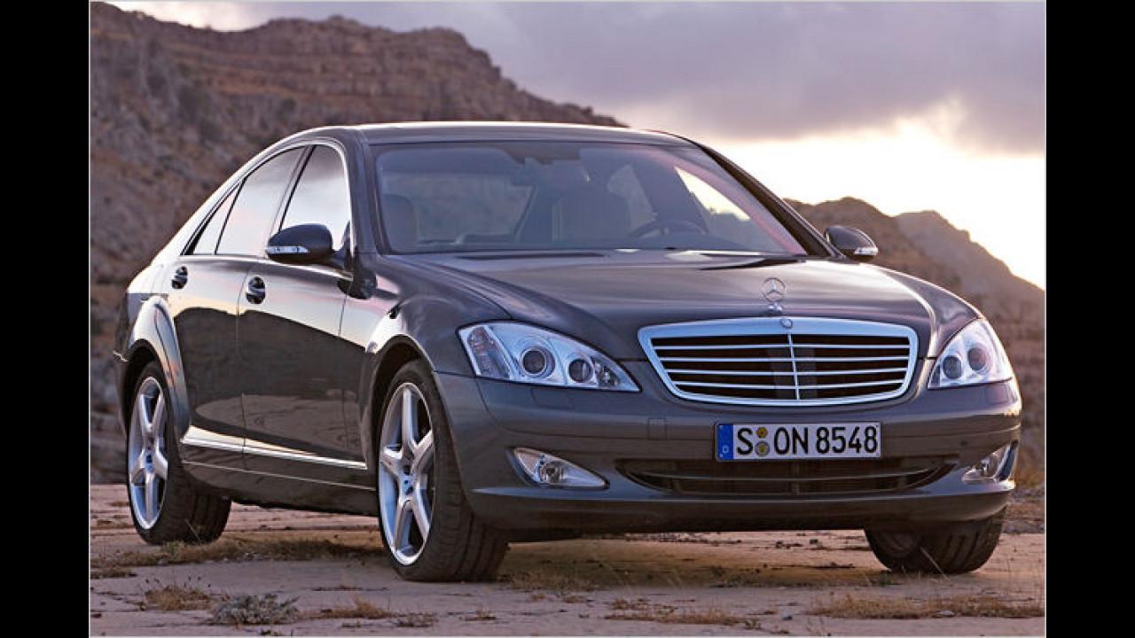 Platz 2 bei den Luxus-Limousinen: Mercedes S-Klasse (16,1 Prozent)