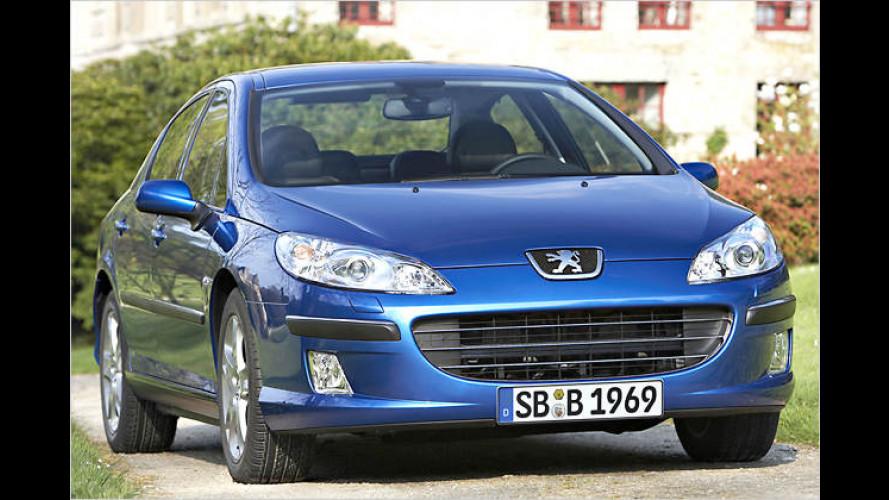 Peugeot 407 JBL: Jetzt gibt's vom Löwen was auf die Ohren