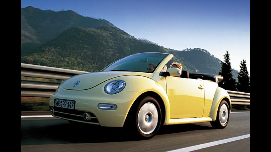 VW bietet ab Herbst 2005 Nachrüstsätze für Partikelfilter