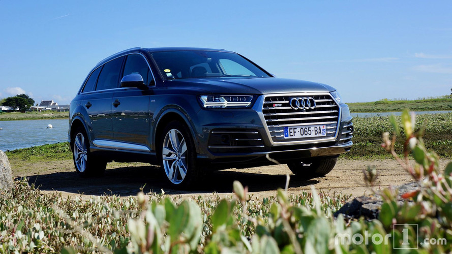 Essai Audi SQ7 - S Express