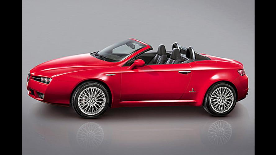 Alfa Spider: Der offene Romeo steht auf dem Genfer Salon