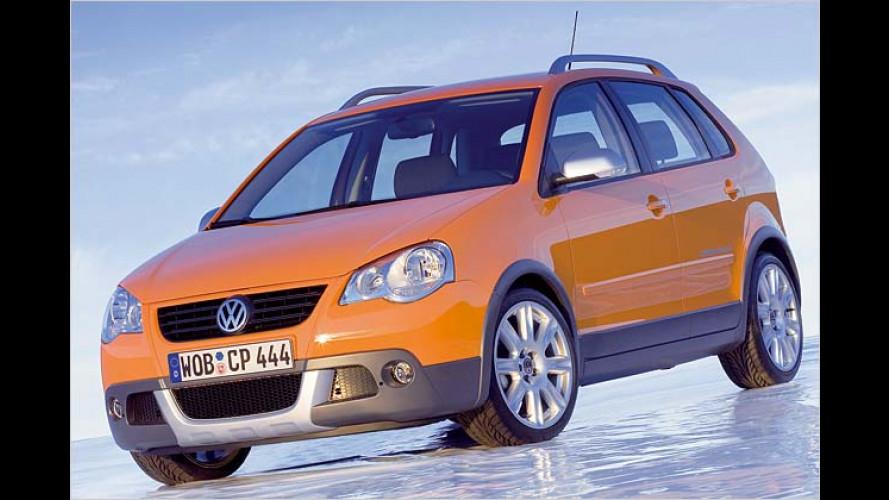 VW Cross Polo: Kleiner mit Offroadoptik kommt im Februar