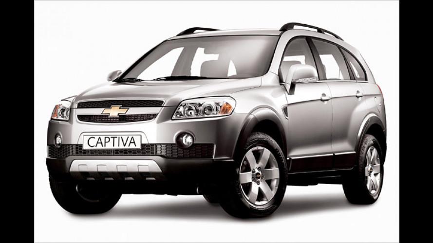 Chevrolet Captiva: Kompakt-SUV feiert Weltpremiere in Genf