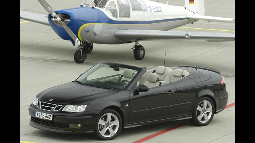 Saab 9-3 Kombi, Limousine und Cabrio: Flotte Aero-Flotte