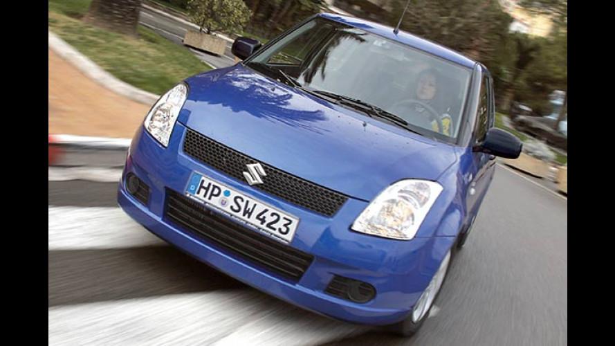 Kleinwagen ganz klassisch: Suzuki bringt den Swift Classic