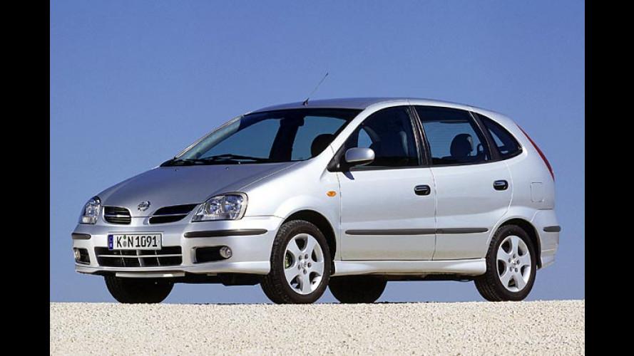 Nissan: Plus an Ausstattung für Almera und Almera Tino
