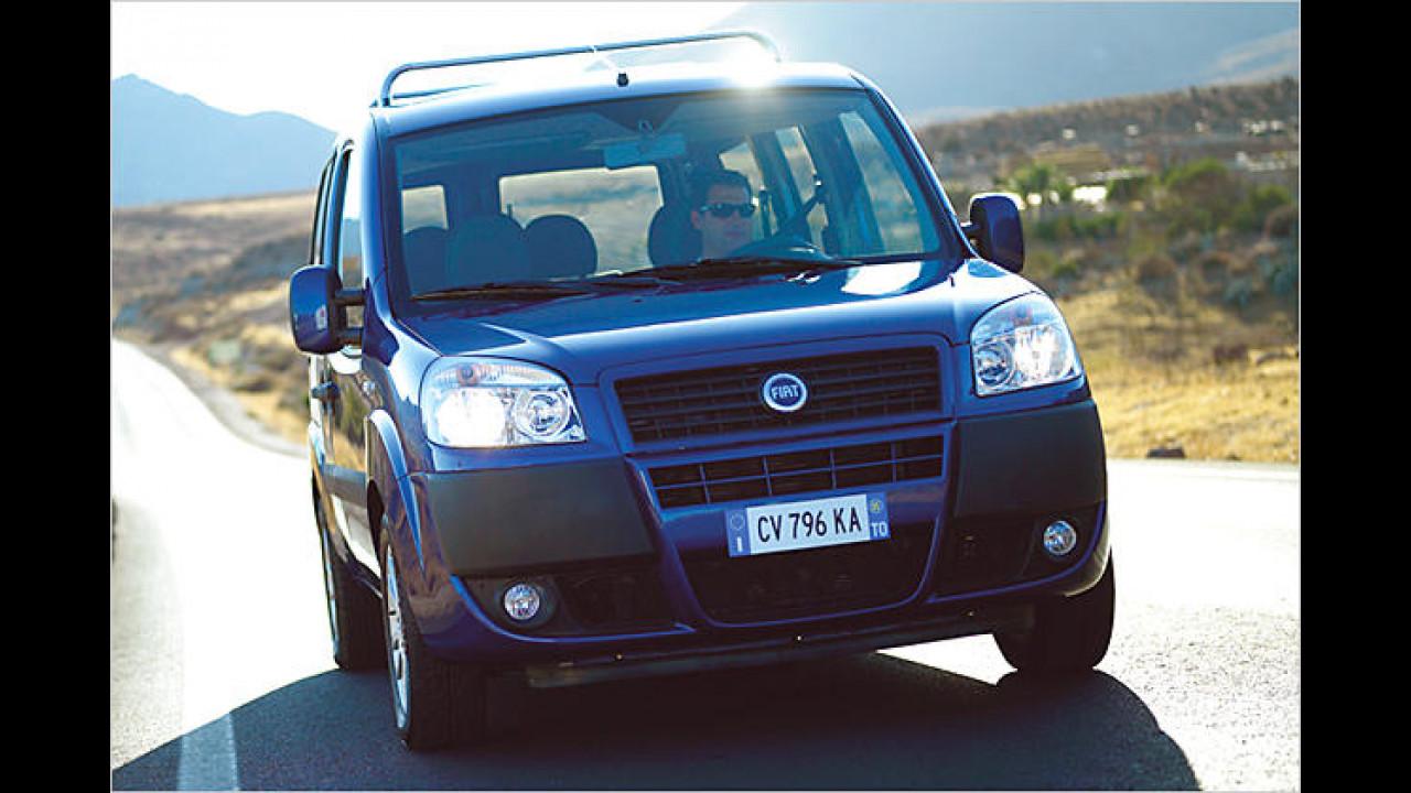 Fiat Doblò Kombi 1.4 8V Actual 4-türig