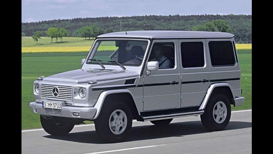 Zeitlose Frische: Neuer Diesel für die Mercedes G-Klasse