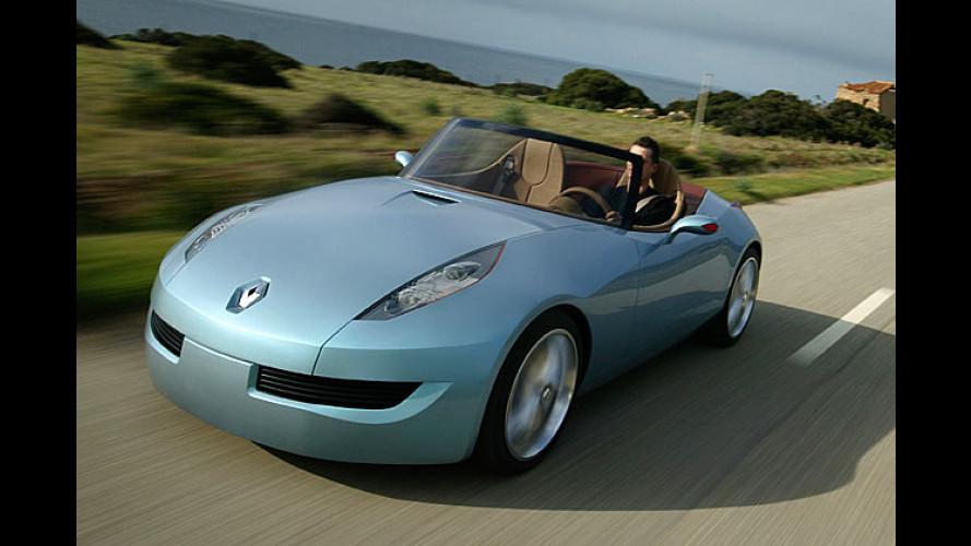 Im Wind ist Platz für drei: Mini-Roadster als Renault-Studie