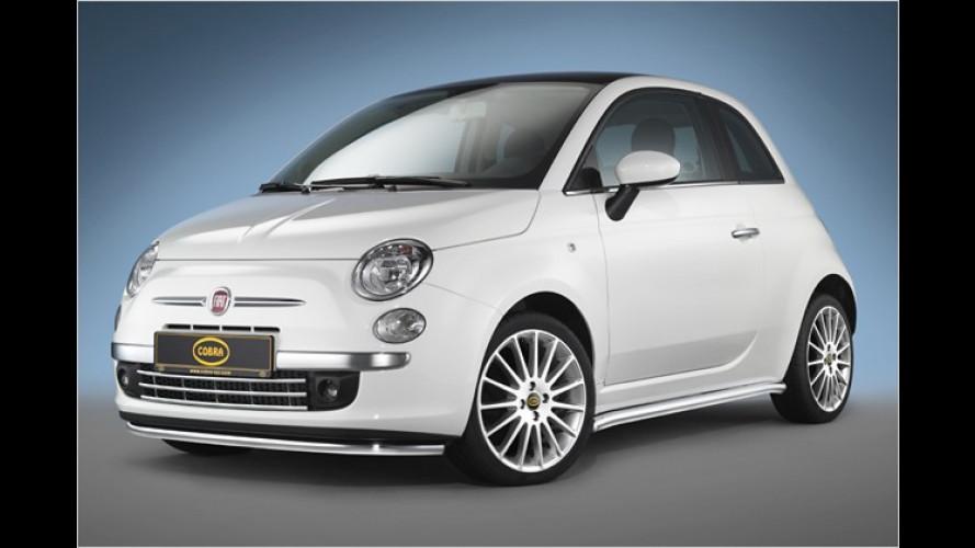 Bella Macchina: Tuner Cobra peppt den Fiat 500 auf