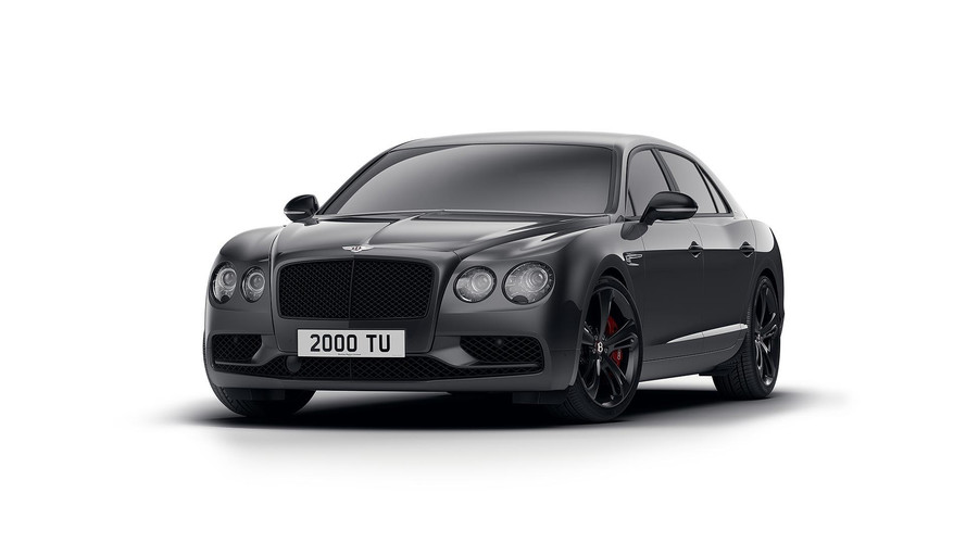 La Bentley Flying Spur Black Edition montre son côté sombre