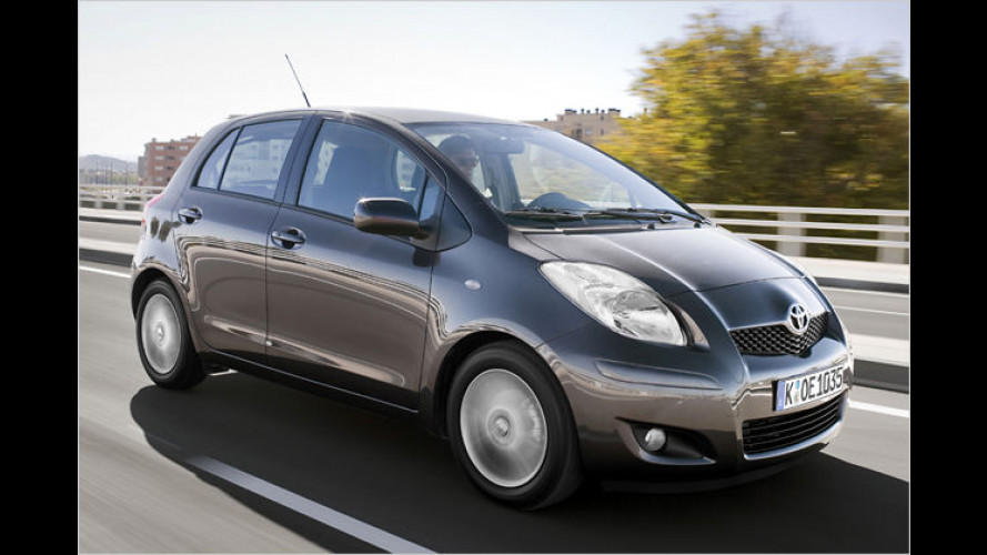 Toyota Yaris erhält Facelift und sparsamere Motoren