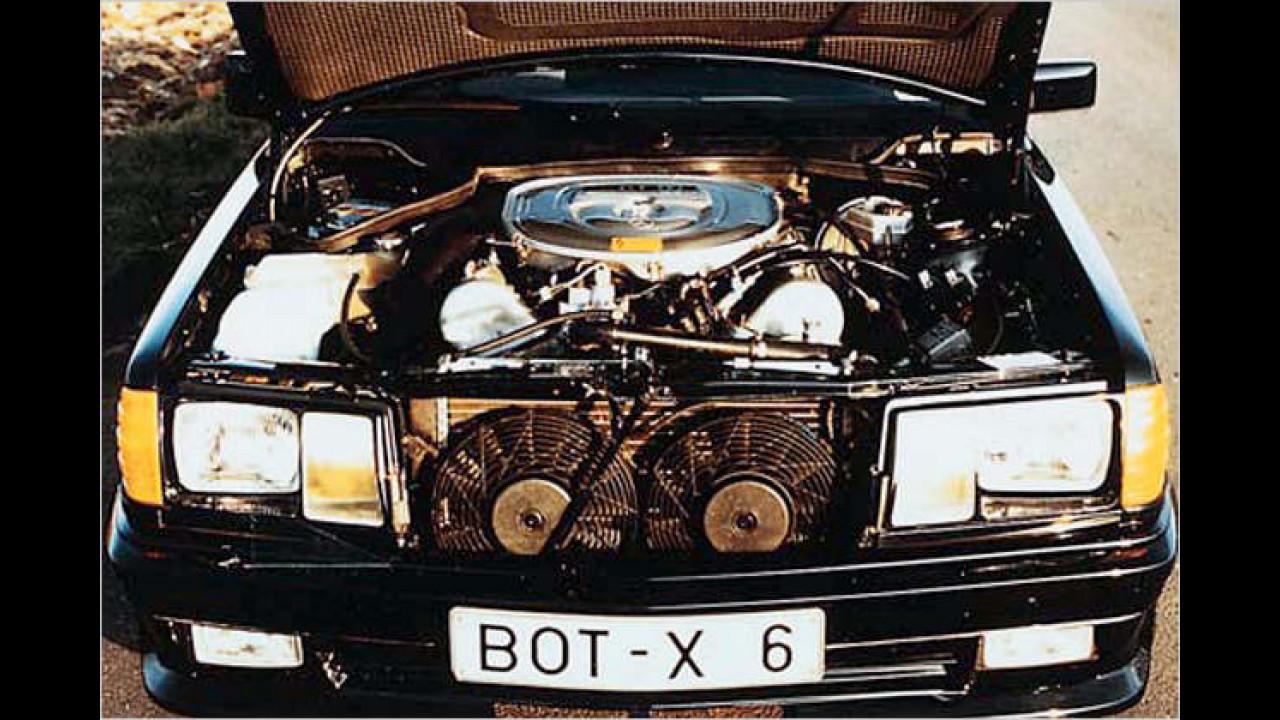 1984: Achtzylinder im Mercedes 190