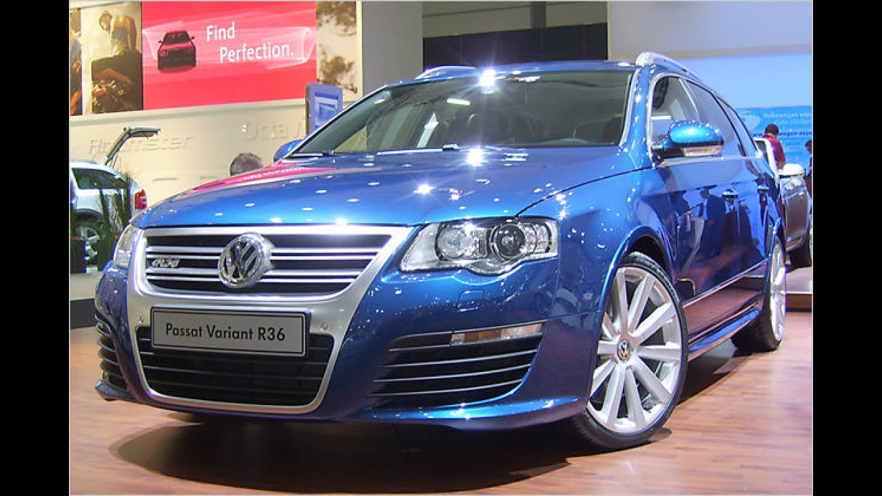 Sportlich: VW Passat Variant R36