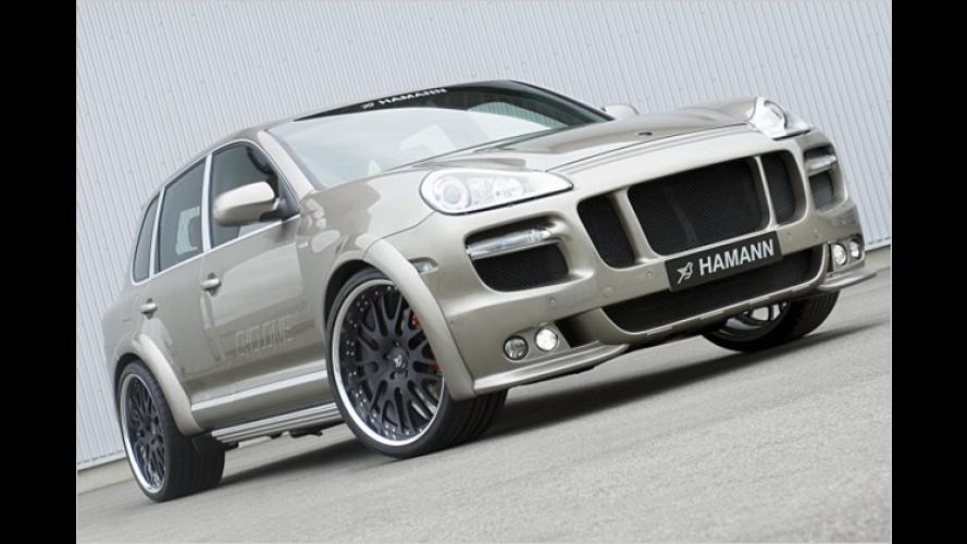 Hamann macht den Porsche Cayenne zum Wirbelsturm
