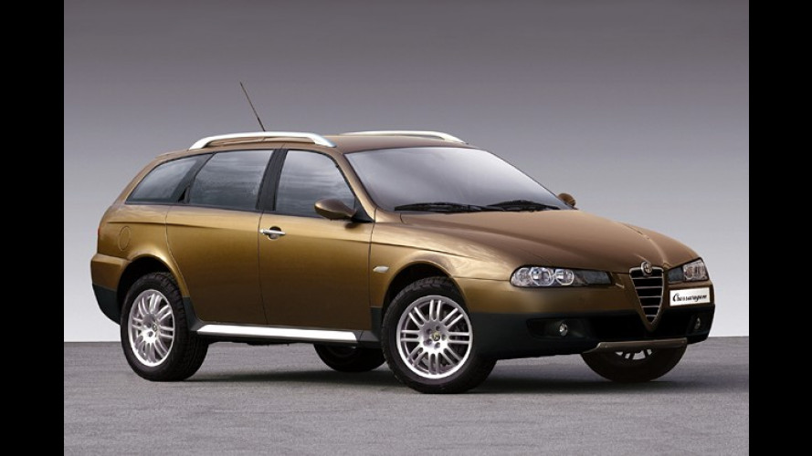 Alfa Crosswagon: Neue Offroad-Variante des Sportwagon