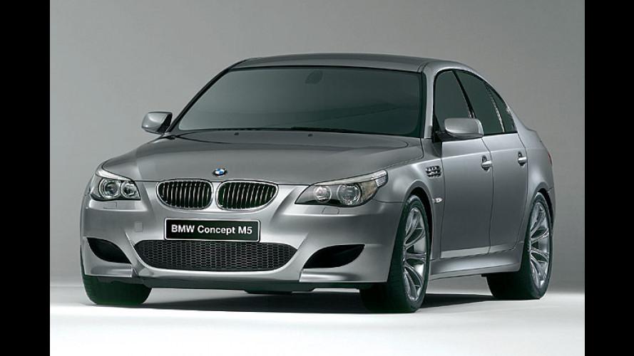 BMW Concept M5: Zehn Zylinder für den Bayern-Express