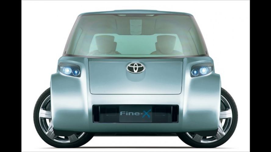 Toyota Fine-X: Brennstoffzellen-Auto im Pflanzenkleid