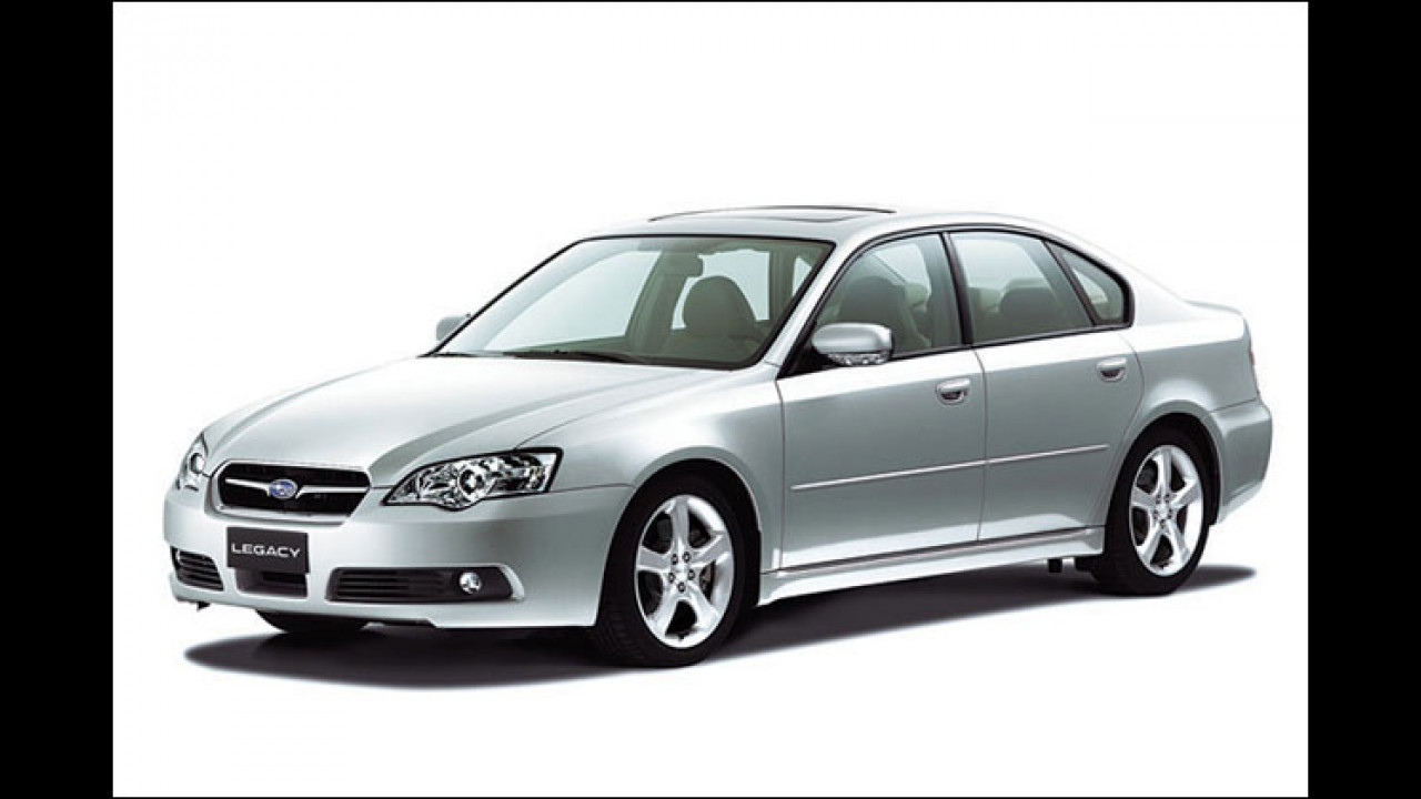 Test Subaru Legacy