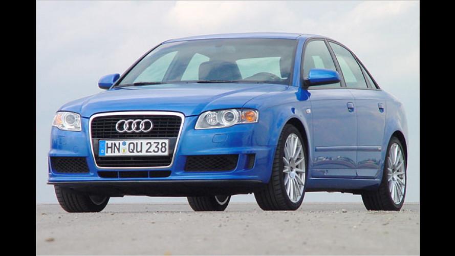 Audi A4 DTM Edition: Blaumann mit Druck-Maschine