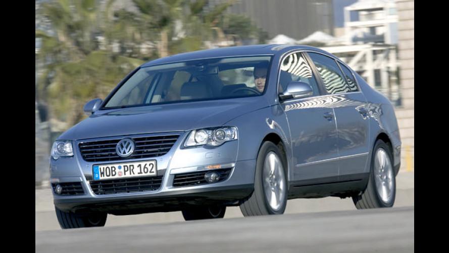 VW Passat: Jetzt auch mit V6-Benziner und Allradantrieb