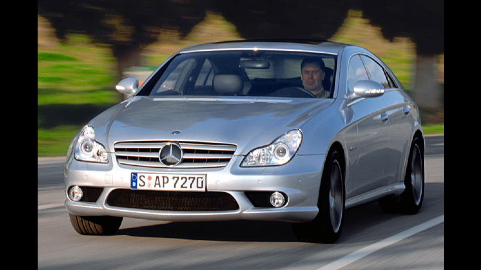 Mercedes CLS Die sichere Zukunft des eleganten Coupés
