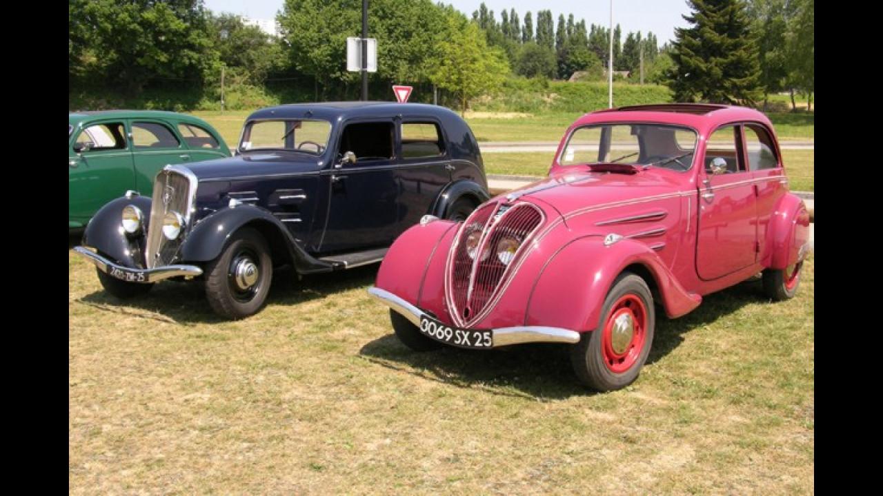 Peugeot 401 und 402
