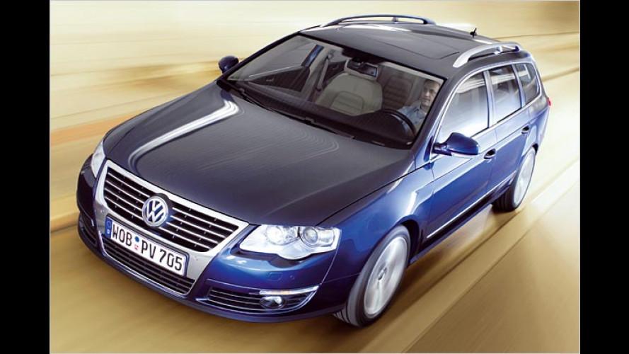 Der neue VW Passat Variant (2005): Da kommt was Großes