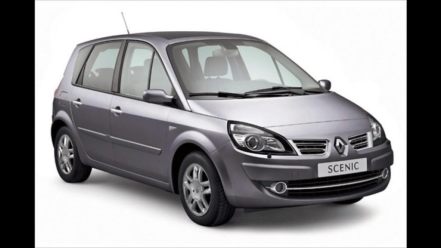 Kleine Schönheits-Operation für den Renault Scénic