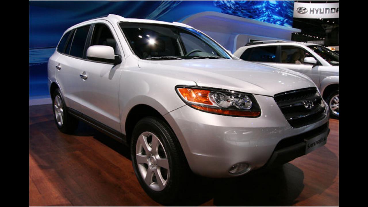 Hyundai Santa Fe 2.7 V6 GLS 4WD Automatik