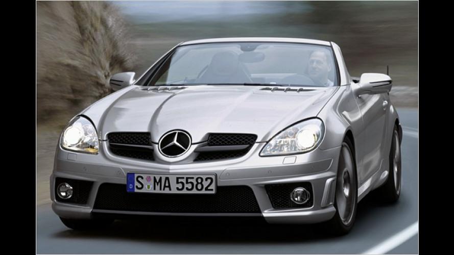 Kleiner Roadster ganz stark: Neuer Mercedes SLK 55 AMG