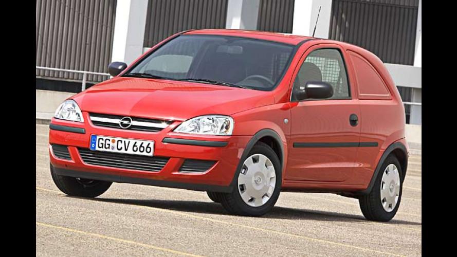 Opel Corsa Van: Neues Mini-Nutzfahrzeug ab 11.426 Euro