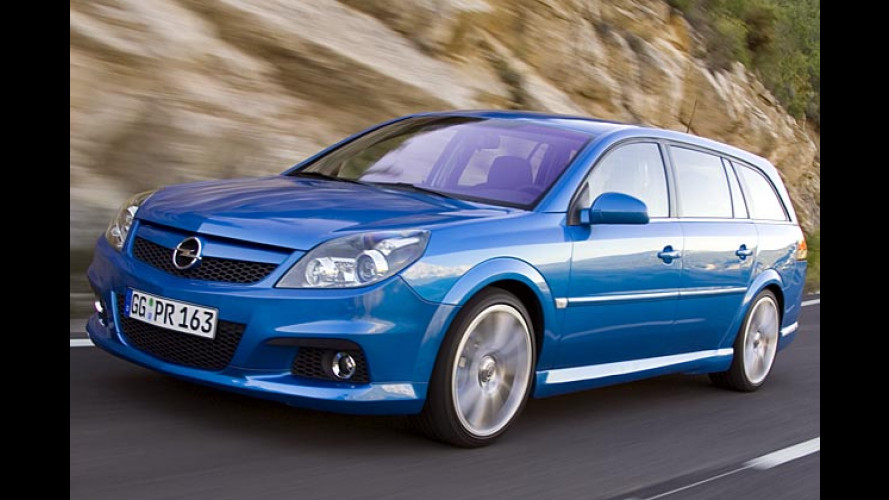 Opel Vectra OPC: Der stärkste Vectra kommt im Herbst