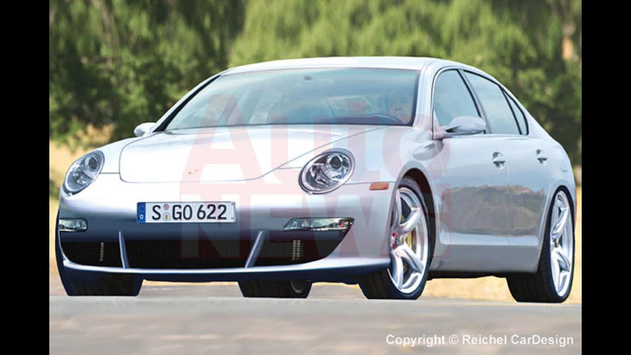 Porsche Panamera kommt