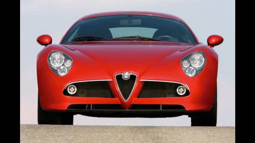 Große Nachfrage nach dem Alfa Romeo 8C Competizione