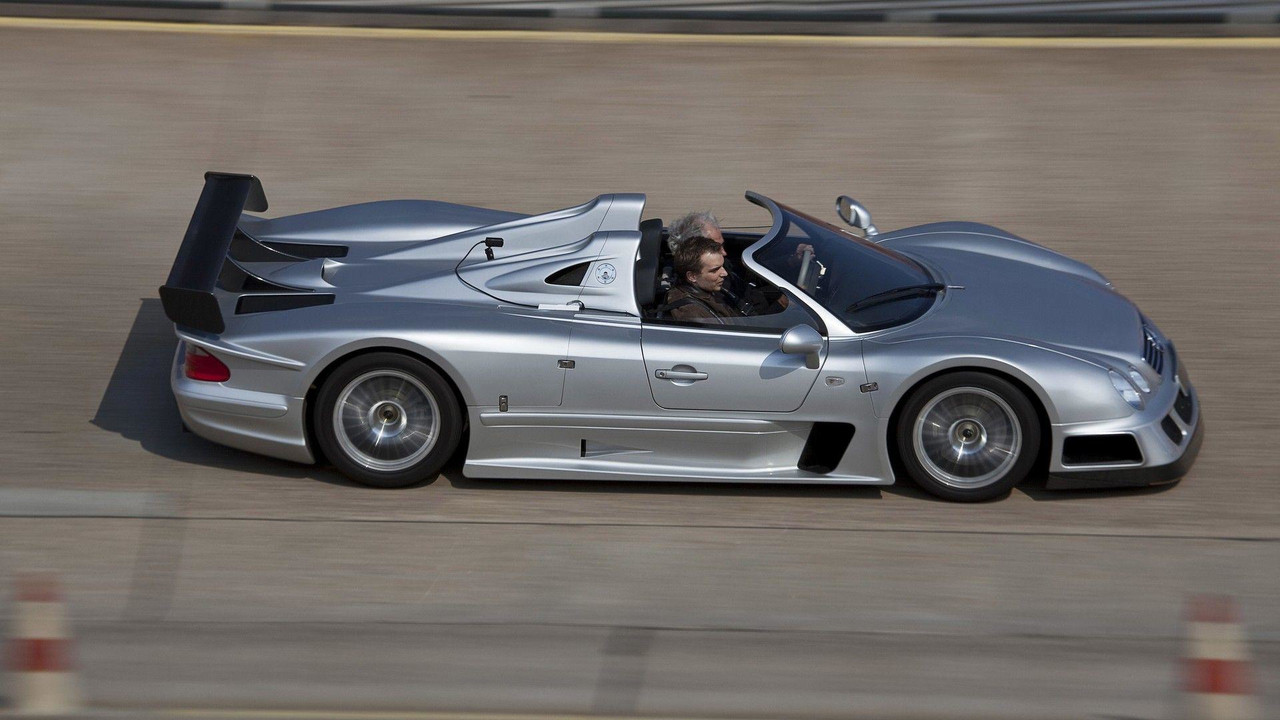 Great Mercedes AMG CLK GTR