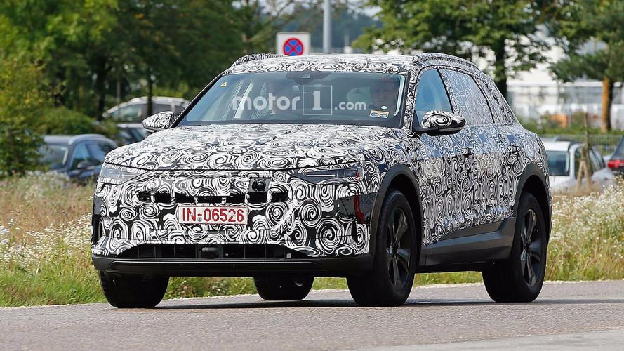Audi E-Tron Photos espion