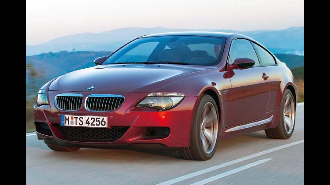 BMW M6: 4,6 sec
