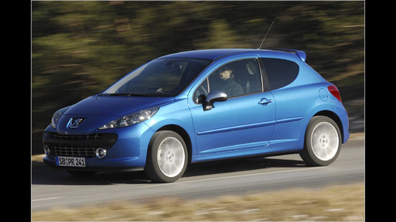 Platz 14: Peugeot 207 RC