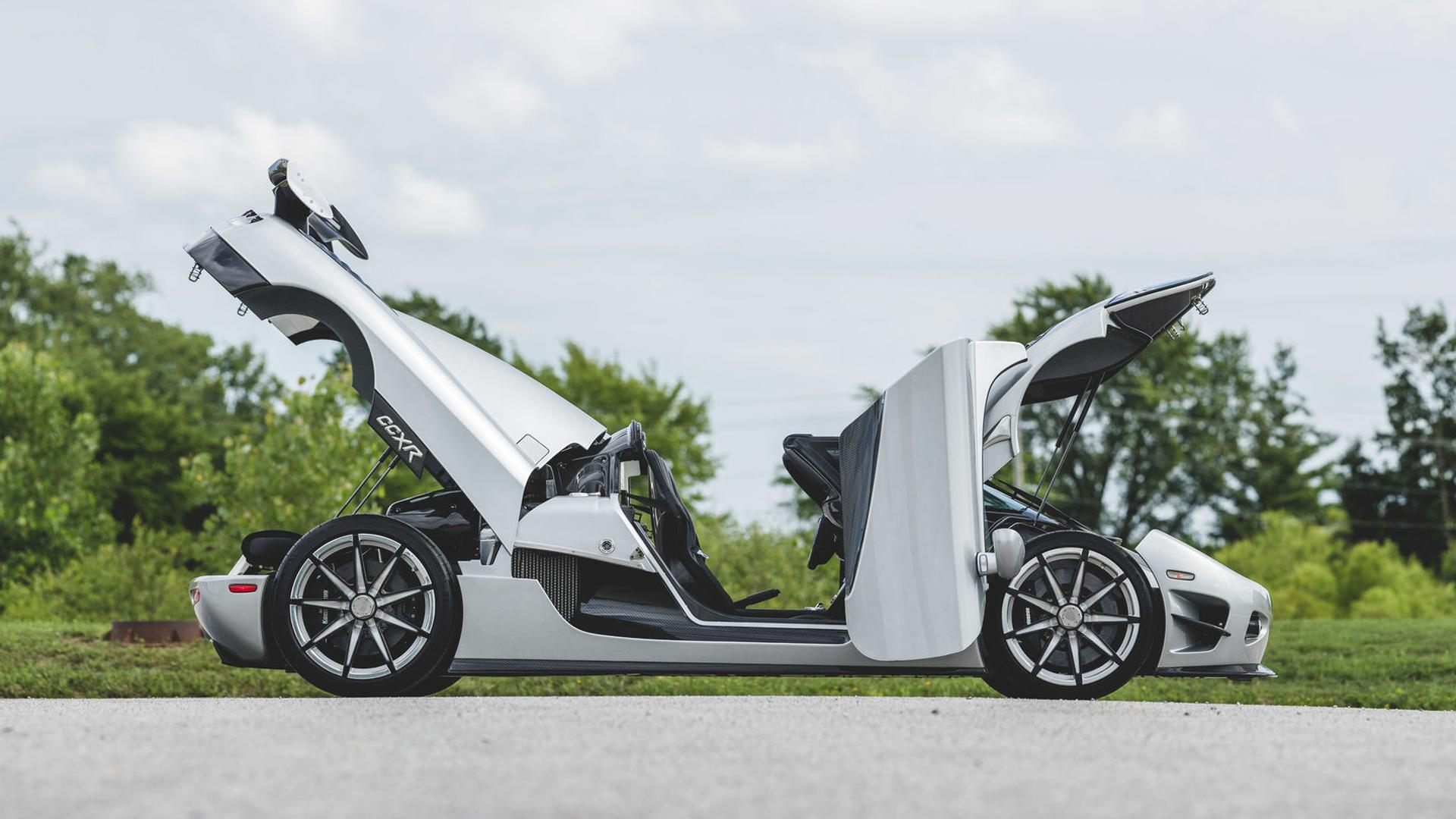 Koenigsegg Ccxr Trevita >> Floyd Mayweather S Koenigsegg Ccxr Trevita Up For Auction