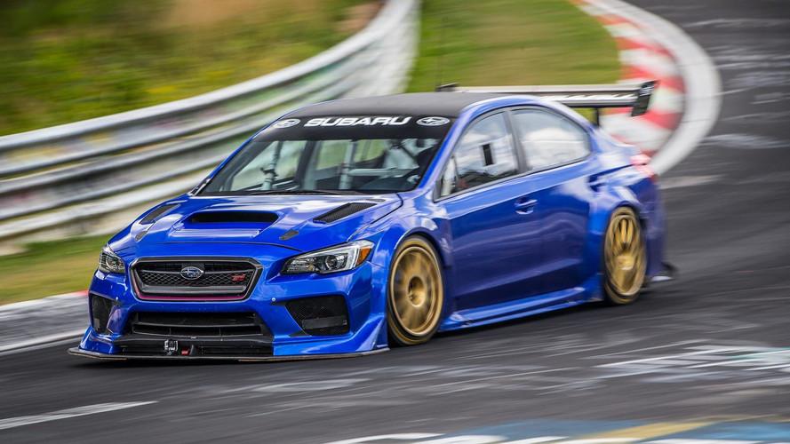 Subaru WRX STI: la berlina más rápida en Nürburgring