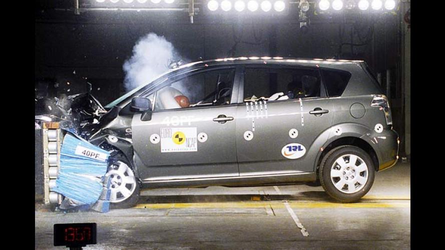 Toyota Corolla Verso: Sicherstes Auto seiner Klasse