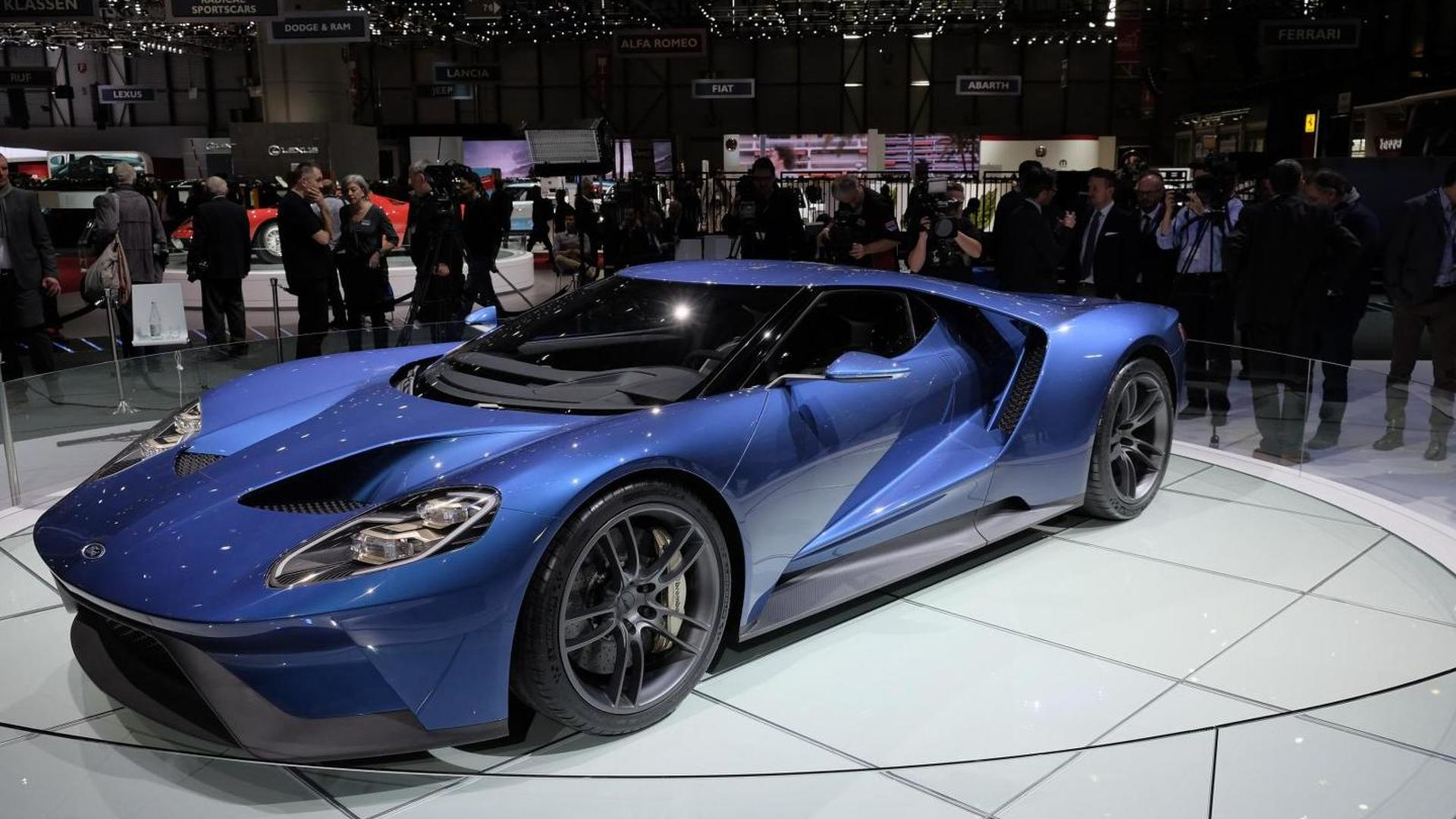 2017 ford gt to cost around 400000 annual production capped at 250 units