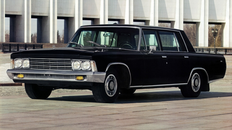 Soviet Cars Were Weird: ZIL-117